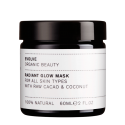 Radiant Glow Organic Face Mask - Masque Exfoliant Cacao - 60 ml