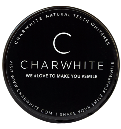 CHARWHITE - Poudre 100% naturelle blancheur dentaire - 50 ml