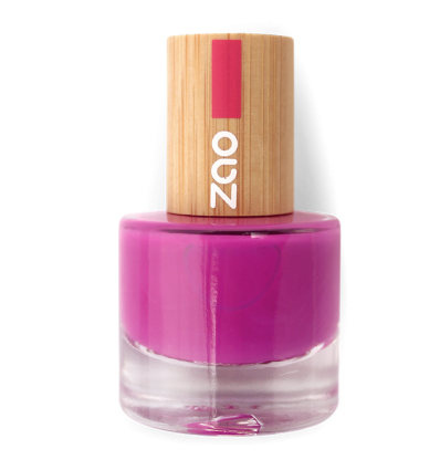 Zao Makeup - Vernis à ongles Fuchsia - 661 - 8 ml