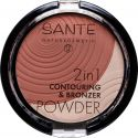 2-en-1 Contouring & Poudre Bronzante N°01 Light Medium - 9g