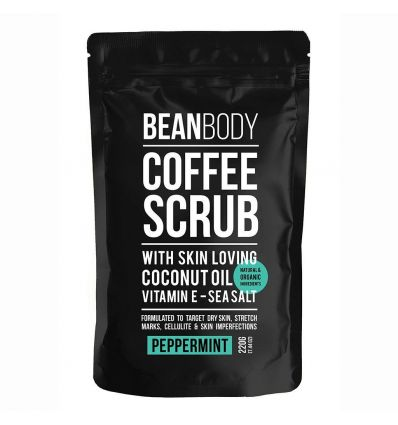 Bean Body - Peppermint  Coffee Scrub - 220g