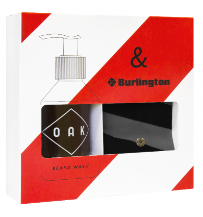 OAK Beard Care - Coffret Oak x Burlington - Spécial Noël