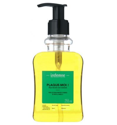 Indemne - Base lavante anti-irritante PLAQUE-MOI ! - 255ml