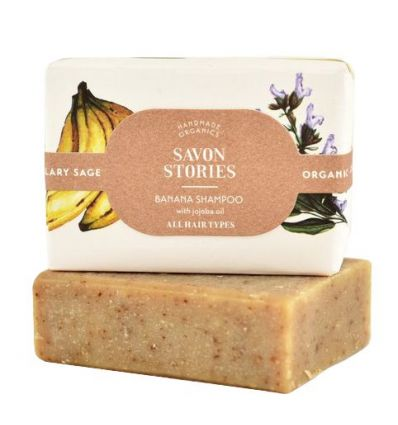 Savon Stories - Shampoing Solide Banane - 90g