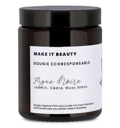 Make It Beauty - Bougie Éco-Responsable - Figue Noire