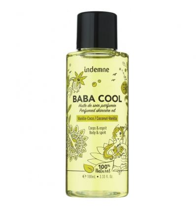 Indemne - Huile de Soin Baba Cool - Vanille Coco - 100 ml