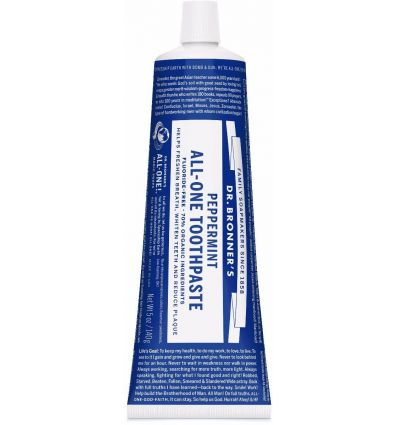 Dr.Bronner's - Dentifrice Menthe - 140g