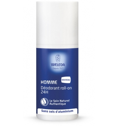 Weleda - Déodorant roll-on 24h Homme - 50 ml