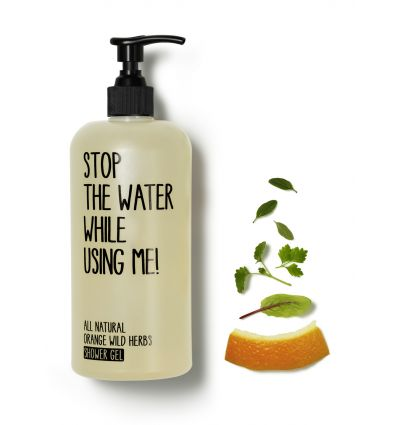 Stop The Water While Using Me - Gel Douche Orange & Herbes Sauvages - 200 ml