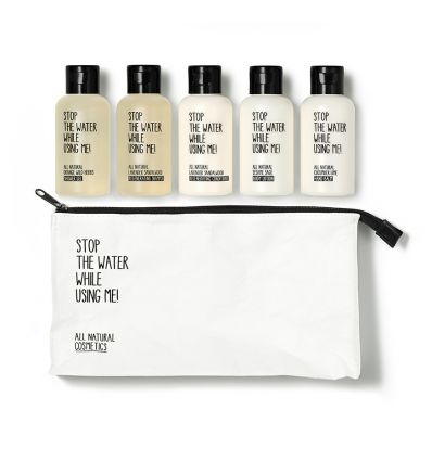Stop The Water While Using Me - Travel Kit - 5 Produits Naturels - Cheveux Secs - 5 x 60 ml