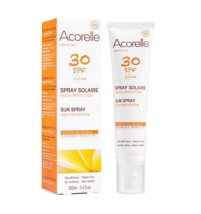 Acorelle - Spray Solaire SPF 30 Haute Protection - 100 ml