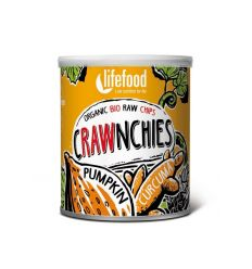 Chips Bio de Courge & Curcuma - Crawnchies Raw Food - 30g