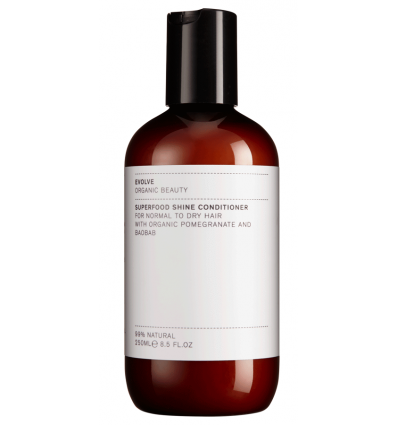 Evolve Organic Beauty - Après-Shampoing Superfood Shine Natural - 250 ml