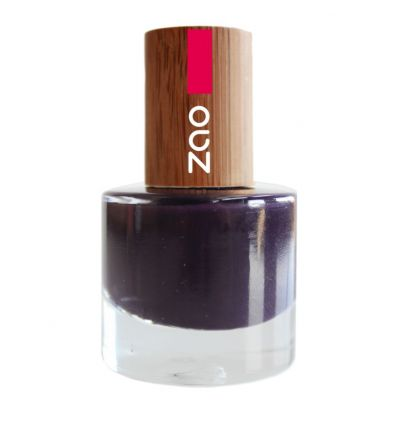 Zao Makeup - Vernis à ongles Prune - 651 - 8 ml