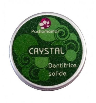 Pachamamaï - Dentifrice Solide Crystal - 20g