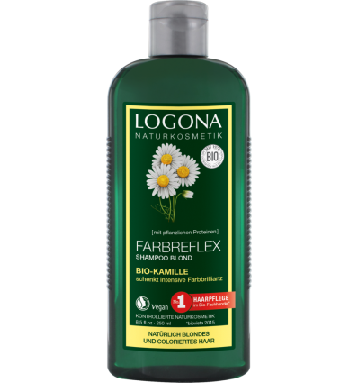 Logona - Shampoing Cheveux Blonds à la Camomille - 250 ml