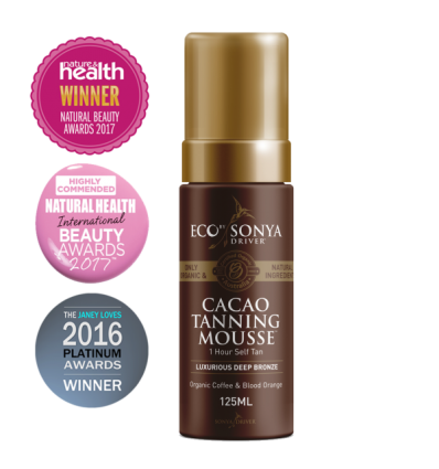 Eco by Sonya Driver - Mousse Autobronzante - Cacao Tanning Mousse - 125 ml