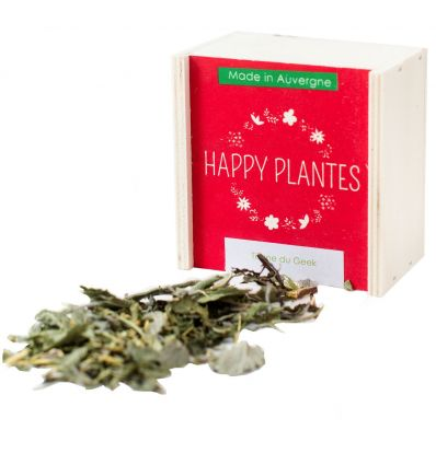 Happy Plantes - Tisane Bio du Geek - 25g