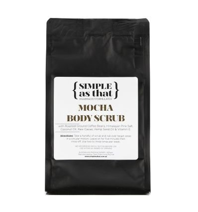 SIMPLE as that - Gommage Corps Mocha - 200g