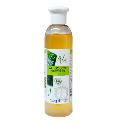 Pur'Aloé - Gel Douche à l'Aloe Vera - 250 ml