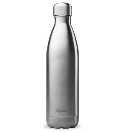 Qwetch - Bouteille isotherme Inox Brossé - 750 ml