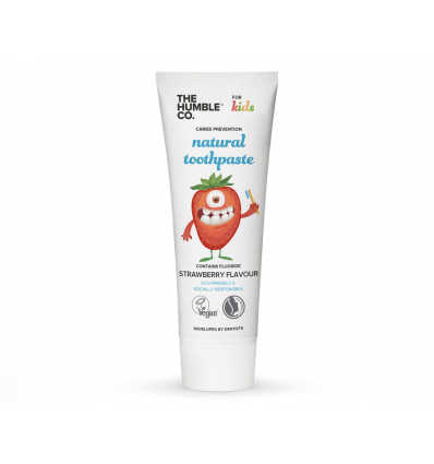 The Humble Co - Dentifrice Fraise KIDS - 75 ml