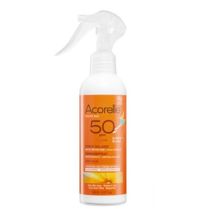 Acorelle - Spray Solaire BIO KIDS SPF 50 - 150 ml