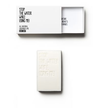 Stop The Water While Using Me - Savon Solide Citron Vert & Concombre - 125g