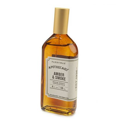 Paddywax - Spray d'Intérieur Apothecary - Amber & Smoke - 110 ml